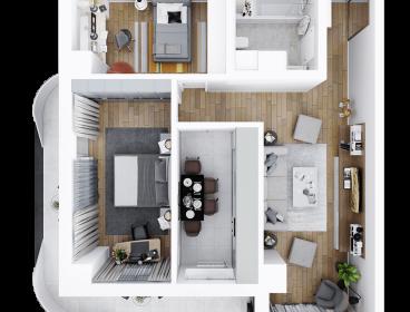 Viva Imobiliare - Apartament 3 camere decomandat 83 mp Bloc nou Comision 0%