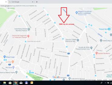 Viva Imobiliare - Teren 5880 mp cu PUZ pt. case si bloc, zona Gageni