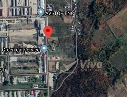 Viva Imobiliare - Teren 503 mp la strada principala, Tomești