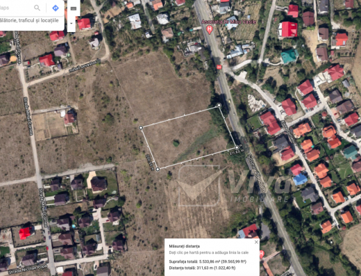 Viva Imobiliare - Teren de vanzare 5500 mp Bucium - intravilan Iasi