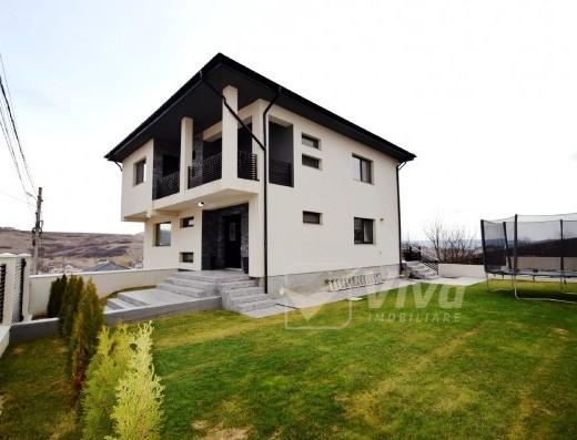 Viva Imobiliare - Casa noua, complet mobilata si utilata, la 50 m de asfalt;