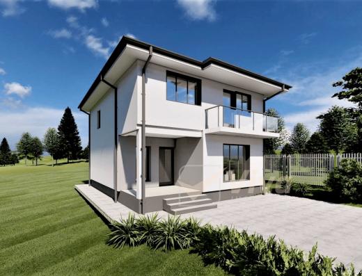 Viva Imobiliare - Vila moderna 4 camere design modern Miroslava-Valea Adanca