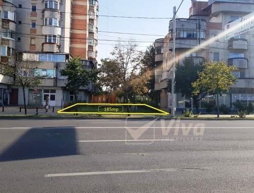 Viva Imobiliare - Pacurari vis-a-vis de Petrom, teren la strada, vad foarte bun