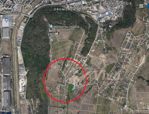 Viva Imobiliare - Teren Manta rosie - Dedeman, 938 mp
